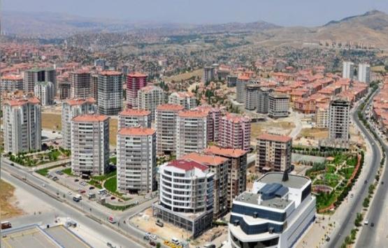 Ankara'da 4 mahallede