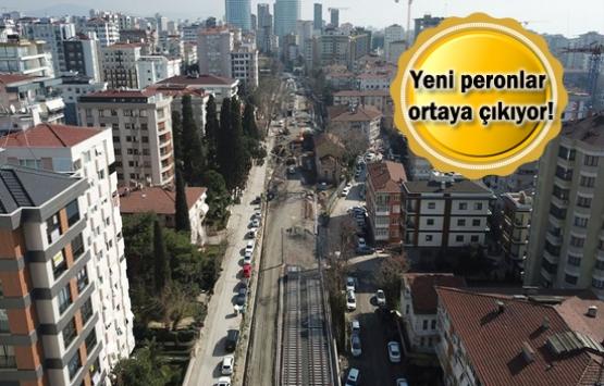 İstanbul'un banliyö hatlarında