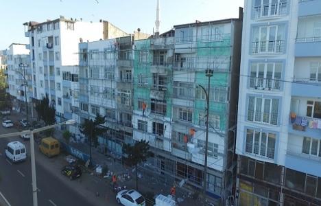 Fatsa'da 51 binanın dış cephesi yenilendi!