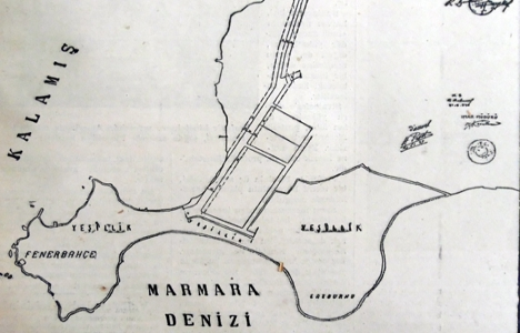 1937 yılında Kalamış