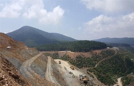 Sakarya Akçay Barajı'nın