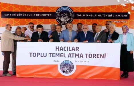 Hacılar Kadın ve Gençlik Merkezi'nin temeli atıldı!