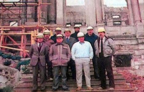 1986 yılında Çırağan,