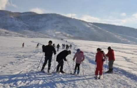 Tunceli Ovacık'ta kayak sezonu açıldı!