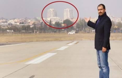 Diyarbakır'daki 22 katlı