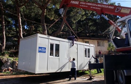 Antalya Belediyesi 118 aileye konteyner ev hediye etti!