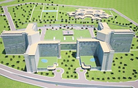 İzmir Bayraklı Şehir Hastanesi 2019'da tamamlanacak!