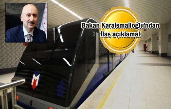 Başakşehir-Kayaşehir Metro Hattı 18 ayda hizmete açılacak!