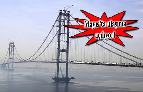 İzmit Körfez Köprüsü'nde