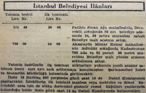 1947 yılında Aksaray'da