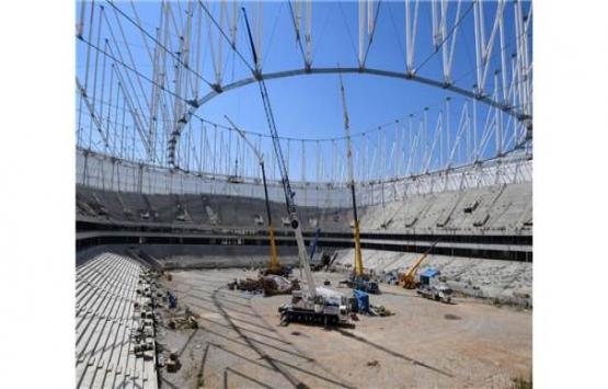 Adana Stadı'nda inşaat