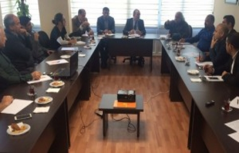 Adana kentleşme ve imar grubu toplantısı yapıldı!