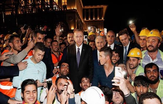 Cumhurbaşkanı Erdoğan, Külliye'deki
