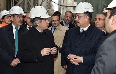 Mehmet Özhaseki Beyoğlu'ndaki gayrimenkul yatırımlarını yerinde inceledi!