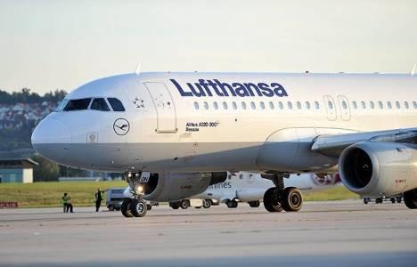 Almanya'da 56 uçak seferi iptal edildi!