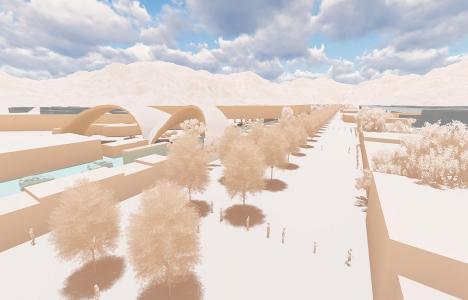 Sunay Erdem'in Meksika Duvarı Projesi birinci seçildi!
