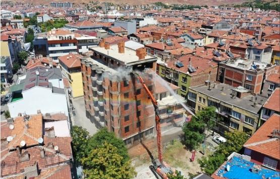 Aksaray'da kentsel dönüşüm başladı!
