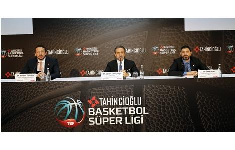 Tahincioğlu, Basketbol Süper Ligi isim sponsoru oldu!