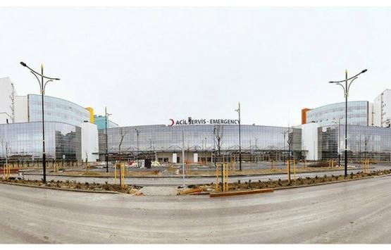 Konya Şehir Hastanesi'nin inşaatında sona gelindi!