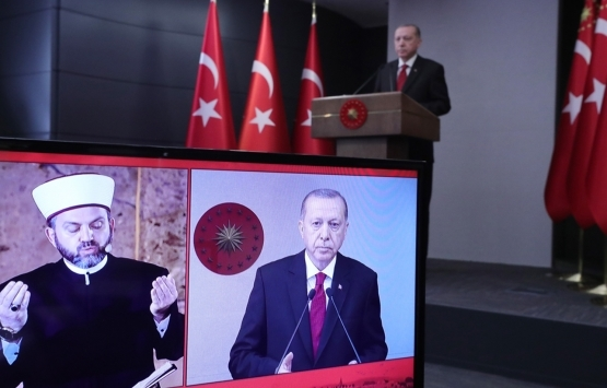 Cumhurbaşkanı Erdoğan: İstanbul'un her karışı sevgiyle imar edildi!
