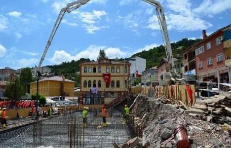 Ordu Mesudiye'nin yeni belediye binasının temeli atıldı!