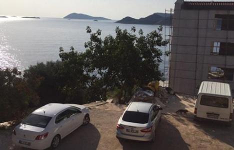 Antalya'da kaçak yapılar