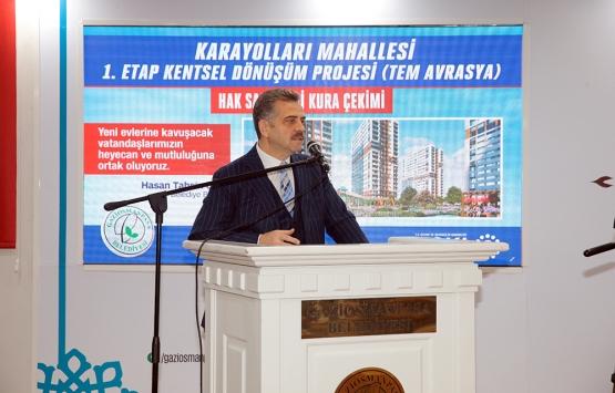 karayolları kentsel dönüşüm projesi kura sonucu