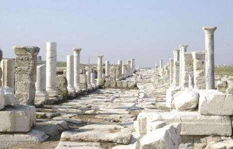 Laodikya Antik Kenti'ni 83 bin 526 yerli ve yabancı turist ziyaret etti!