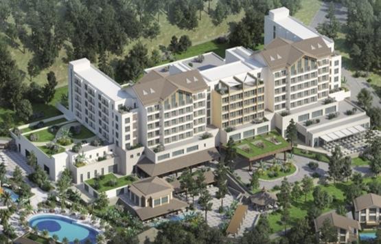 Mersin BN Hotel Thermal & Spa 350 milyon TL'ye inşa ediliyor!