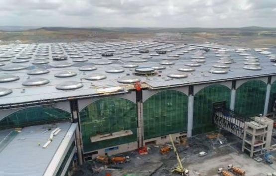 3. havalimanında inşaat