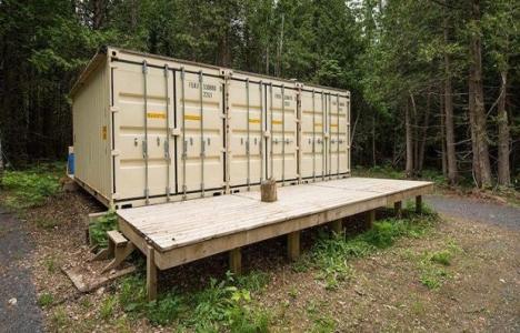 Yük konteynerindan prefabrik