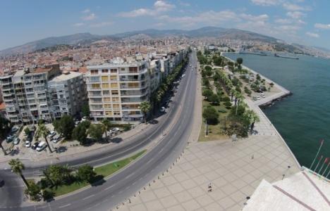 İzmir Alaybey tramvay hattının yapım çalışmaları başladı!
