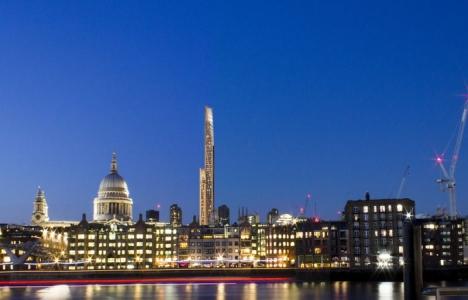 Londra'ya 80 katlı