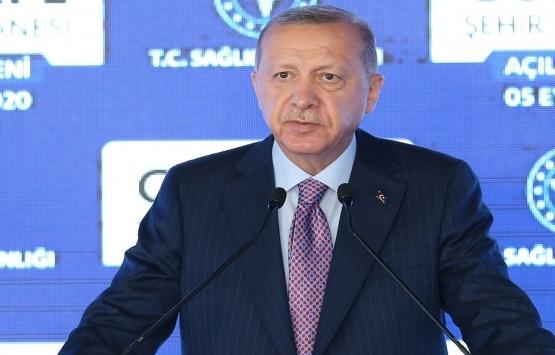 Cumhurbaşkanı Erdoğan: İnşaat sektörü güven endeksi yüzde 40,7 arttı!