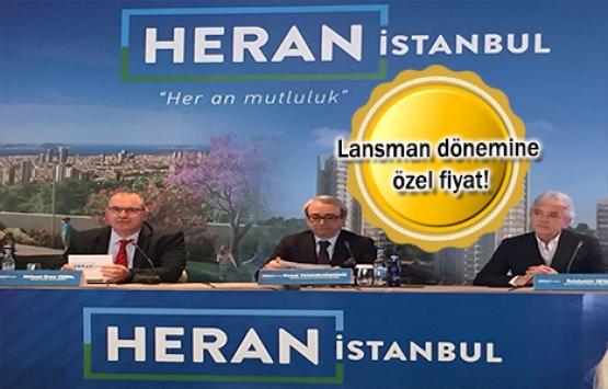 Heran İstanbul'un lansmanı yapıldı! 269 bin TL'ye!