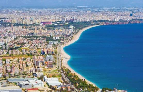 Antalya'da 100 bin