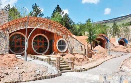 Sivas'taki 17 Hobbit evi hizmete giriyor!