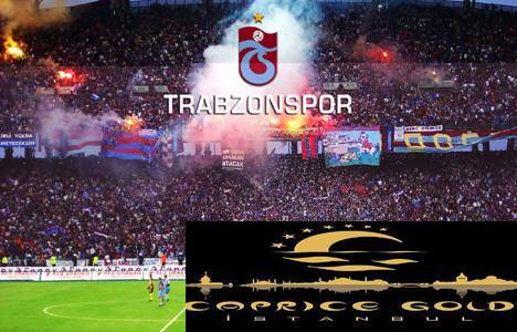 Caprice Gold gelecek sezon Trabzonspor'a sponsor olacak!