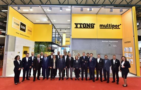 Türk Ytong ürünleri, Yapı İstanbul Fuarı'nda sergilendi!