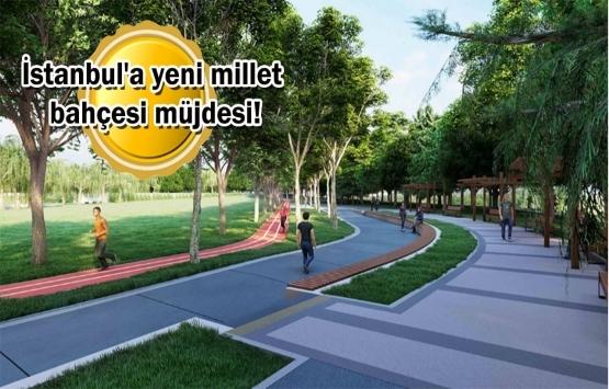 Aydos Ormanı Millet Bahçesi için düğmeye basıldı!