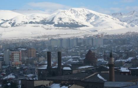 Erzurum Palandöken'de 22.6