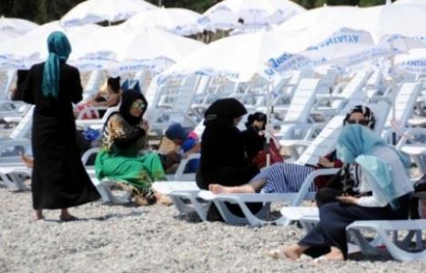 Antalya'ya kadınlar plajı