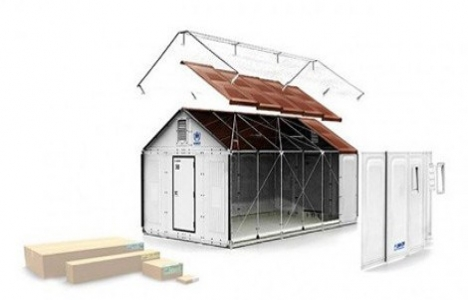İsviçre sığınmacılar için IKEA tasarımlı evler alacak!