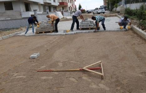 Manisa Selvilitepe'de sokaklar yenileniyor!