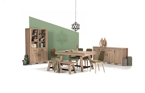 İder Mobilya Limyra Yemek Odası ile doğadan ilham alın!