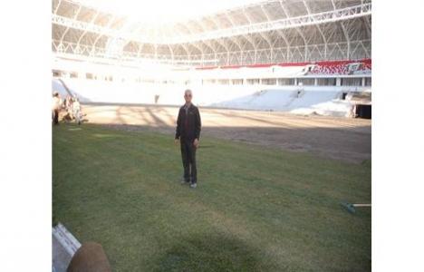 Malatya Arena Stadı'nda sona doğru!