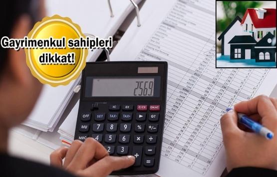Emlak vergisinde fiyatlar 12 kat arttı!