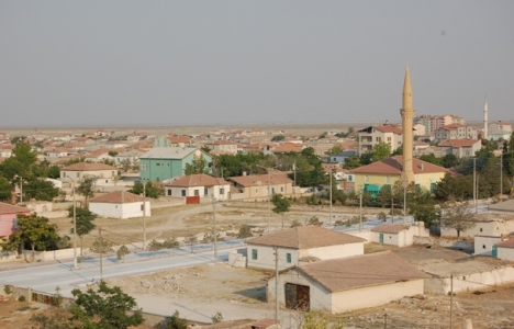Aksaray Eskil'deki toplulaştırma