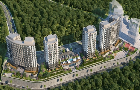 Sky Bahçeşehir'de 369 bin TL'ye 2+1!