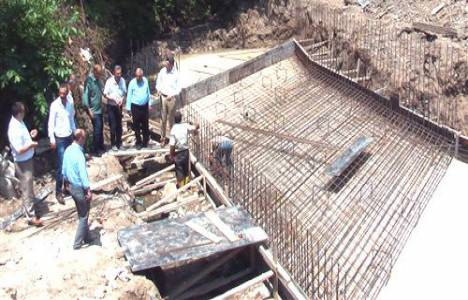 Akhisar Köprüsü'nün temeli atıldı!